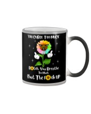 You Curse Too Much Funny Color Changing Mug thumbnail