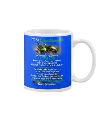 Brave Courage Love Life Turtle