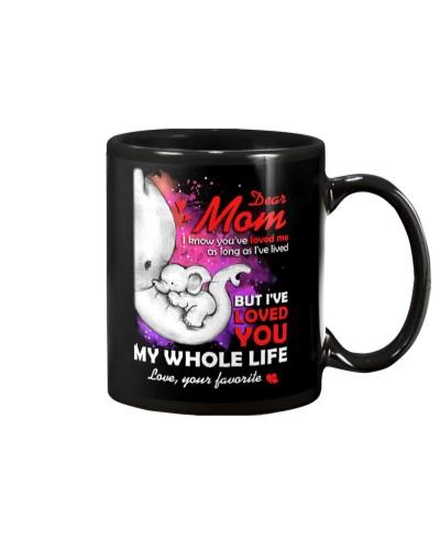 Mom You've Loved Me Elephant