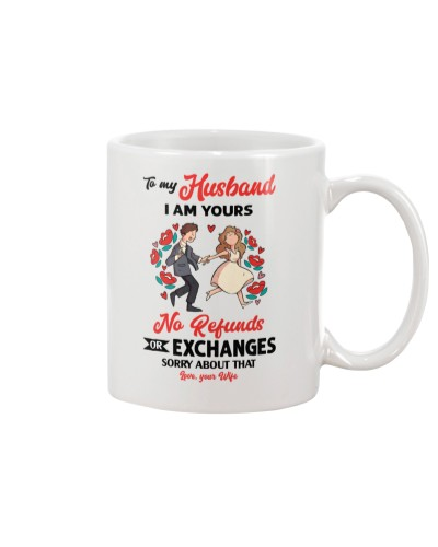 Husband I'm Yours  Or Exchanges Custom M