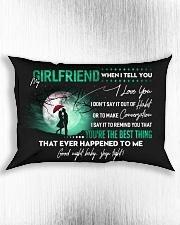 Girlfriend When I say I love you GG Rectangular Pillowcase aos-pillow-rectangle-front-lifestyle-4