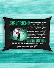 Girlfriend When I say I love you GG Rectangular Pillowcase aos-pillow-rectangle-front-lifestyle-5