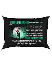 Girlfriend When I say I love you GG Rectangular Pillowcase back