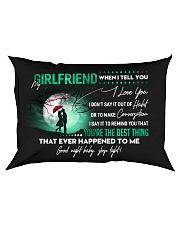 Girlfriend When I say I love you GG Rectangular Pillowcase front