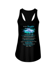 To My Daughter I Wish You The Strength Dolphin  Ladies Flowy Tank thumbnail