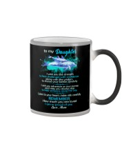 To My Daughter I Wish You The Strength Dolphin  Color Changing Mug thumbnail