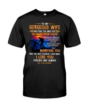 My Wife Meeting You Was Fate Hiking Classic T-Shirt thumbnail