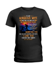 My Wife Meeting You Was Fate Hiking Ladies T-Shirt thumbnail