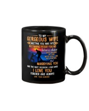 My Wife Meeting You Was Fate Hiking Mug front