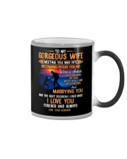My Wife Meeting You Was Fate Hiking Color Changing Mug thumbnail