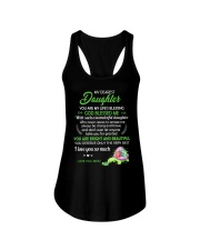 To My Dearest Daughter You Are My Life's Blessing Ladies Flowy Tank thumbnail