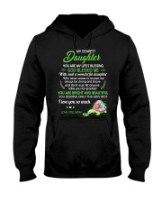 To My Dearest Daughter You Are My Life's Blessing Hooded Sweatshirt thumbnail