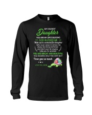 To My Dearest Daughter You Are My Life's Blessing Long Sleeve Tee thumbnail