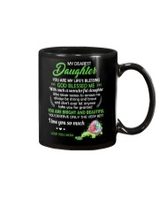 To My Dearest Daughter You Are My Life's Blessing Mug front