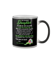 To My Dearest Daughter You Are My Life's Blessing Color Changing Mug thumbnail