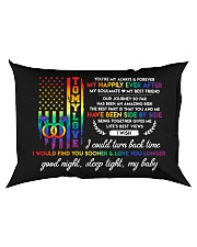 You Are My Always And Forever LGBT Rectangular Pillowcase back