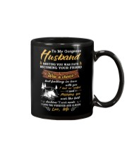 Meeting You Was Fate Camping Husband Mug front
