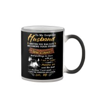 Meeting You Was Fate Camping Husband Color Changing Mug thumbnail