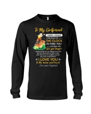 I Thank God For You Being In My Life Dinosaur  Long Sleeve Tee thumbnail