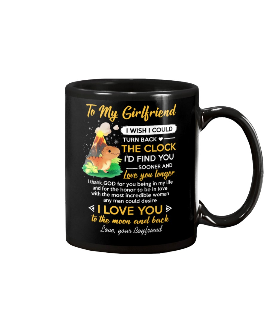 I Thank God For You Being In My Life Dinosaur  Mug