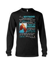 Otter Boyfriend Ups And Downs Love Long Sleeve Tee thumbnail