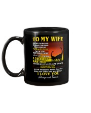 Dinosaur Wife Ups And Downs Love  Mug back