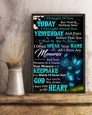 I Thought Of You Today Butterfly  11x17 Poster lifestyle-poster-3