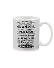 Viking Old Man Grandpa  Mug tile