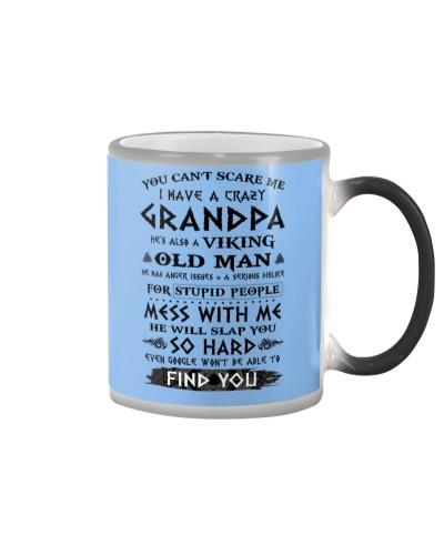 Viking Old Man Grandpa