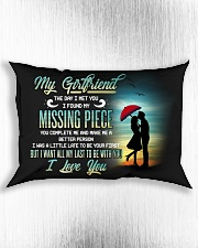 Family Girlfriend You Complete Me Rectangular Pillowcase aos-pillow-rectangle-front-lifestyle-4