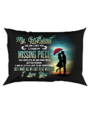 Family Girlfriend You Complete Me Rectangular Pillowcase front