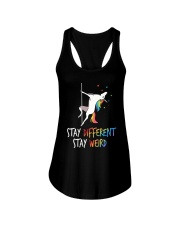 Stay Different Stay Weird Unicorn Ladies Flowy Tank thumbnail