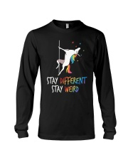 Stay Different Stay Weird Unicorn Long Sleeve Tee thumbnail