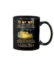 I Wish I Could Turn Back The Clock Camping Mug front