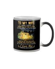 I Wish I Could Turn Back The Clock Camping Color Changing Mug thumbnail