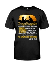 Always Remember Fishing Daughter Mug Classic T-Shirt thumbnail