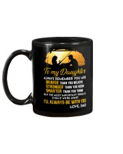 Always Remember Fishing Daughter Mug Mug back