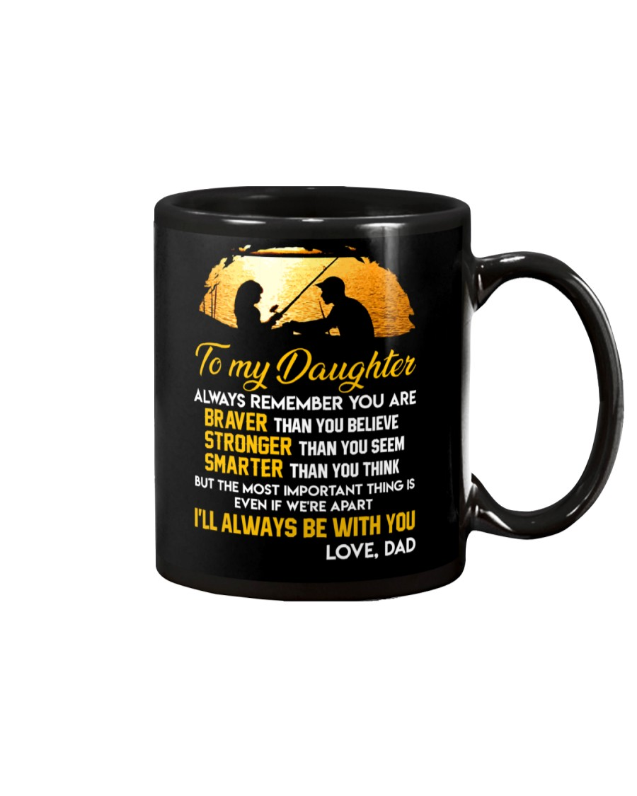 Always Remember Fishing Daughter Mug Mug