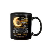Owl Wife Clock Ability Moon Mug front