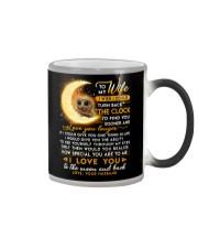 Owl Wife Clock Ability Moon Color Changing Mug thumbnail