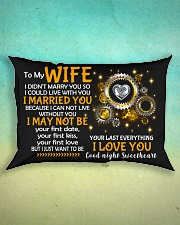 I Could Live With You Rectangular Pillowcase aos-pillow-rectangle-front-lifestyle-3