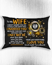 I Could Live With You Rectangular Pillowcase aos-pillow-rectangle-front-lifestyle-4
