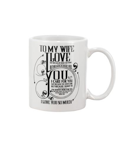 Family Wife I'm Love You So Much Mug CC