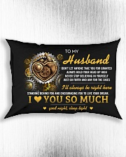 Don't Let Anyone Take You For Granted Rectangular Pillowcase aos-pillow-rectangle-front-lifestyle-4
