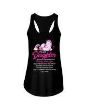 Unicorn Always Remember Mommy Loves You Mom Ladies Flowy Tank thumbnail