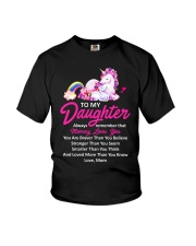 Unicorn Always Remember Mommy Loves You Mom Youth T-Shirt thumbnail