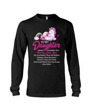 Unicorn Always Remember Mommy Loves You Mom Long Sleeve Tee thumbnail