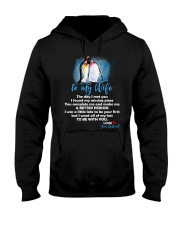 The Day I Met You My Missing Piece Penguin Hooded Sweatshirt thumbnail