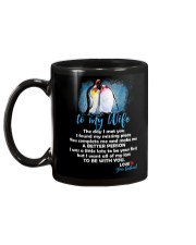 The Day I Met You My Missing Piece Penguin Mug back