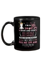 I Will Shout Piss Me Off  Unicorn  Mug back